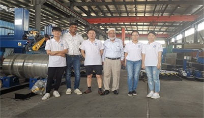 India customers visit our factory